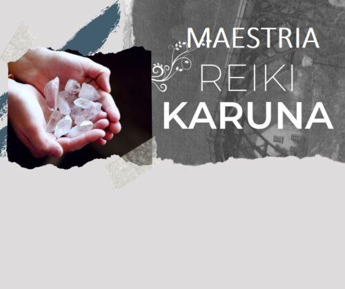 Curso Maestria Reiki Karuna